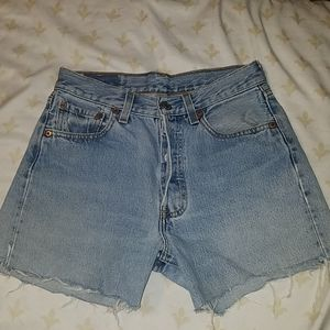 Levi High Waisted Custom Shorts